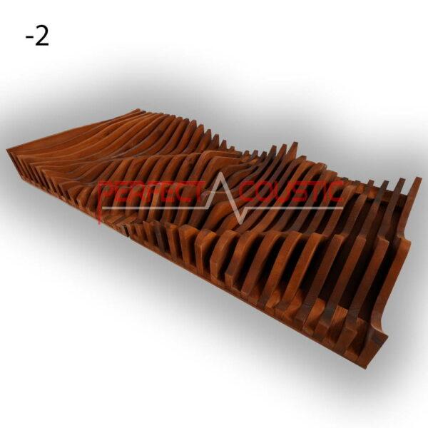 -2 parametric diffuser mahagoni.