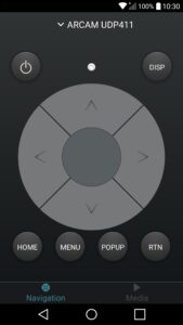 Applicazione Arcam-Control-per-Android