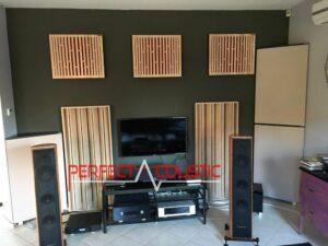 Acustica da studio-Diffusore acustico a colonna