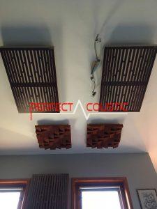 Bass trap sul soffitto (2)