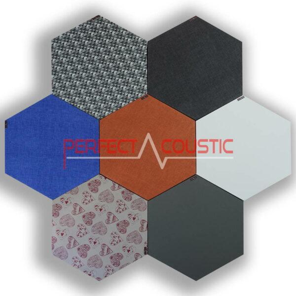 Colori del pannello acustico esagonale modellato