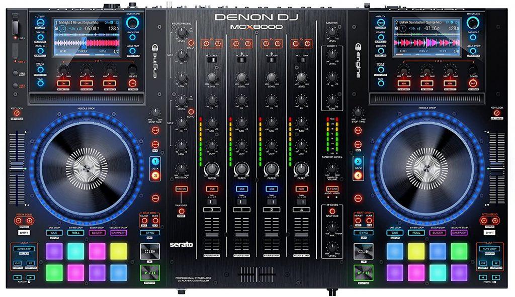 Controller Denon-Dj-McX-8000