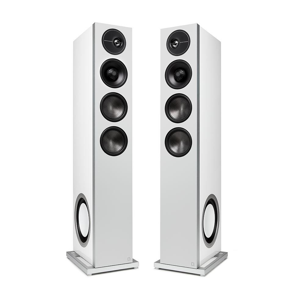 Definitive D15 White Tower Speaker Technology