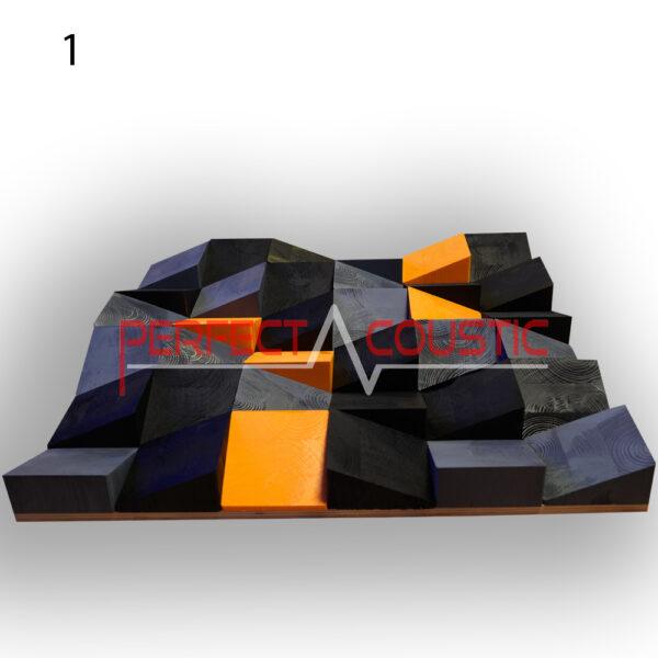 Diffusori acustici Art 60x60x6cm