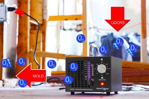 Disinfezione dell'ozono del pannello acustico (1)