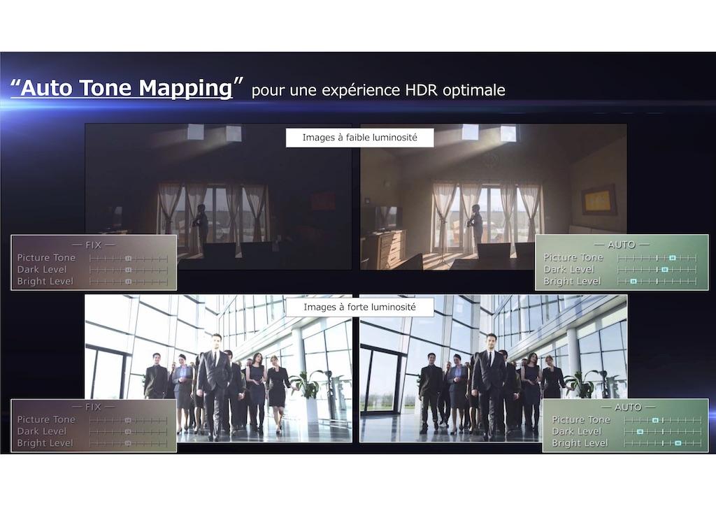 Funzione JVC-Auto-Tone-Mapping