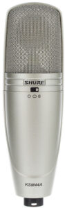 Microfono Shure-KSM44A