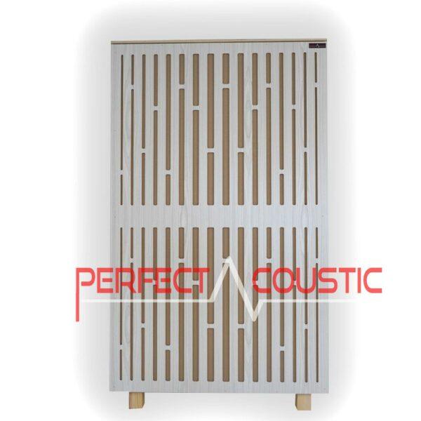 Panneau acoustique du panneau avant du diffuseur en blanc (2)