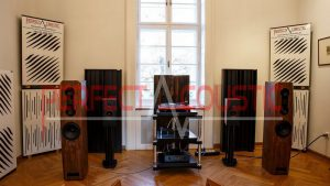Acustica da studio-diffusori acustici in legno