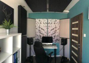 Perfect Acoustic pannello fonoassorbente in un piccolo studio di casa (3)