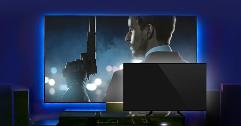 Proiettore contro TV