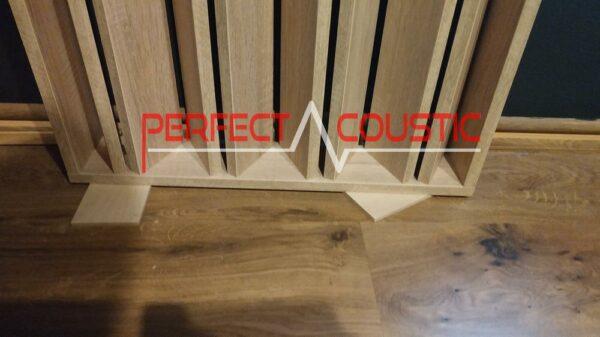 Sospensione di pannelli per soffitti acustici