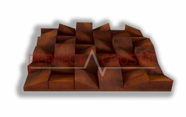 Tipo di diffusore acustico in legno (2)