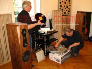 acustica della stanza-Diffusore acustico a colonna