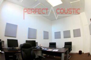 acustica per ufficio con pannelli