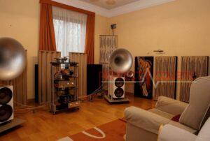 Diffusore acustico a colonna