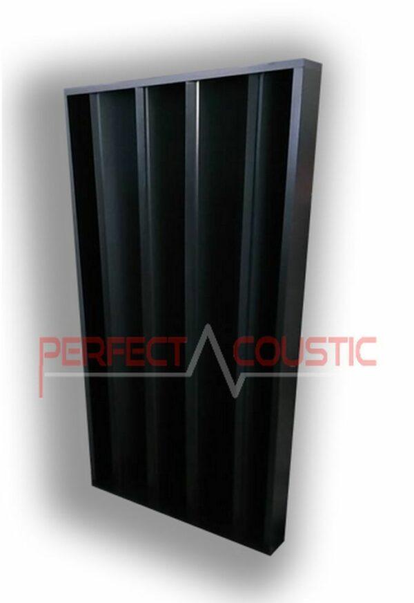 diffusore acustico colonnare nero