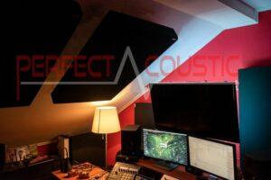 misura acustica di studio sul tetto