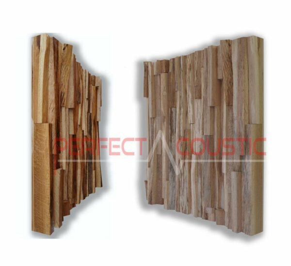 modello di diffusore acustico in legno di quercia
