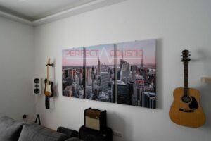 pannelli acustici per foto da parete