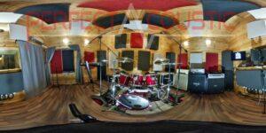 separazione acustica dell'attrezzatura del tamburo