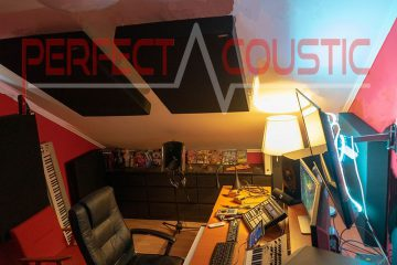 studio acustico in soffitta